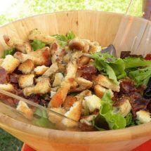 Une salade qui a du croquant : Salade vosgienne sur Recettes.net