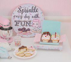 Sweet Petite Miniature Play Scale Cupcake by SweetPetiteShoppe, $20.00