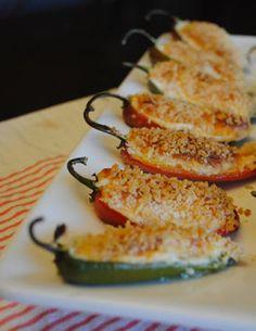 Невыразимая легкость кулинарного бытия...: Острые перчики, фаршированные сыром