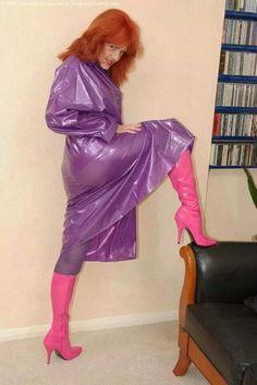 Plastic Raincoat, Pvc Raincoat, Imper Pvc, Vynil, Plastic Mac, Vinyl Clothing, Rain Suit, Raincoat Jacket, Pink Boots
