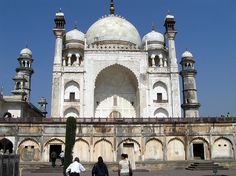 The Bibi Ka Maqbara in Aurangabad built by Azam Shah as tomb of his mother Dilras Banu Begum also known as Rabia Durrani