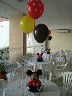 Centro de mesa tematico