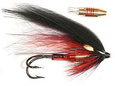 Tube flies. Good looking salmon fly. For more fly fishing and fly reels please follow and check out www.theflyreelguide.com Also check out the original pinners site and support. Thanks #flyfishing