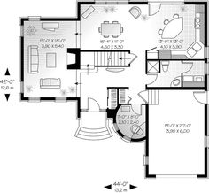 The Atwater Victorian Style Home has 3 bedrooms and 2 full baths. See amenities for Plan 032D-0595.