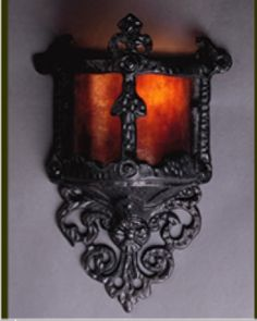 Small Gothic Wall Sconce by the Mica Lamp Company is on Sale. Mica Lamps Small Gothic Wall Sconce is a medieval gothic style and is a outgrowth of European period revival styles. Victorian Gothic Decor, Gothic Home Decor, Gothic House, Victorian Homes, Medieval Gothic, Renaissance, Candle Sconces, Wall Sconces, Wall Hooks