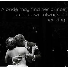 A bride and her dad #weddingseason #weddinginspiration #weddingdaypics #fatherofthebride #fatherdaughterdance #fathersday