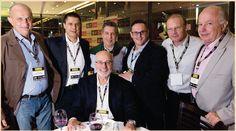 Jantar de Negocios junto com os amigos Renaldo Calderini, Eduardo Muraco e outros mais