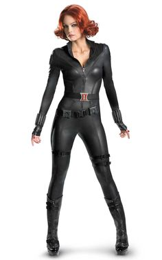 Agility, strength, endurance and stamina: it's all wrapped up in a body that's built to kill.  The Avengers Black Widow Elite Adult Costume doesn't just identify you as one of the world's top assassins, it marks you as part of the elite team of Avengers.