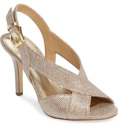 online shopping for MICHAEL Michael Kors Becky Cross Strap Sandal (Women) from top store. See new offer for MICHAEL Michael Kors Becky Cross Strap Sandal (Women) Hot Shoes, Shoes Heels, Evening Sandals, Kinds Of Shoes, Slingback Sandal, Beautiful Shoes, Summer Shoes, Strap Sandals, Wedding Shoes