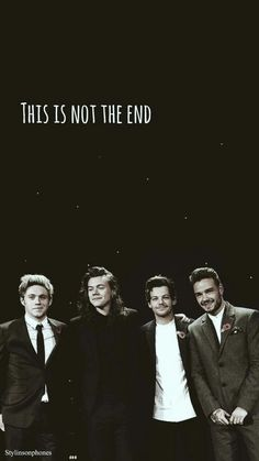 This is not the end of one direction