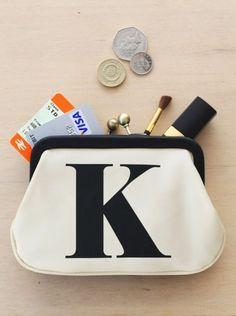 cute little K bag...