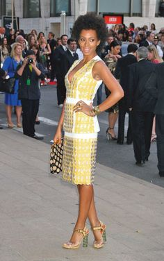 Solange Knowles Marni yellow