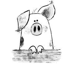 Chris chatterton auf time for bed oink pig sketch illustration kidlitart which your 6 animaeko artist animaeko artist cartoon Pig Sketch, Pencil Sketch Drawing, Drawing Ideas, Doodle Drawings, Doodle Art, Easy Drawings, Easy Animal Drawings, The Zoo, Art Du Croquis