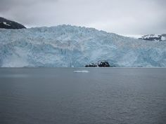 Alaska:  Kenai Fjords, Seward AK.   Take the glacier boat tour.  It's long, but well worth it.