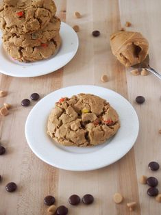 Flourless Triple Peanut Butter Cookies - these were delicious!  Very rich-but so yummy!