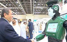 Sputnik Türkiye ///  Dubai'de ilk robot polis, göreve başladı