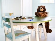 30 Excellent Picture of Diy Kids Furniture . Diy Kids Furniture How To Repurpose A Dining Table Into A Kids Activity Table How