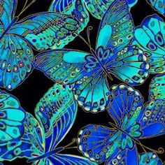 Electric butterflies