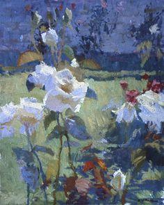 ❀ Blooming Brushwork ❀ - garden and still life flower paintings - Daniel Pinkham