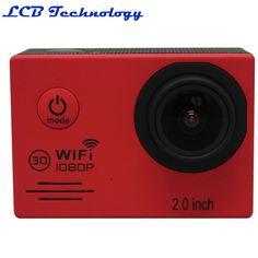 2PC/LOT Car Camera Full HD 1080P 12M WiFi Sport Action Camera Diving Waterproof Helmet Video Camcorder Car  DV-30