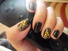 Triforce Nails -Nerd Love!!