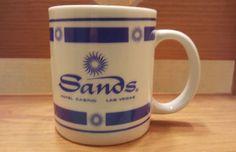 Vintage Sands Hotel CASINO LAS VEGAS Coffee Cup or Mug Rare