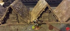 Miniatures & Terrain: How to make: Saxon Huts