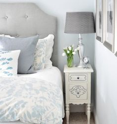 small bedoom furniture ideas white tall thin nightstand bedside lamp