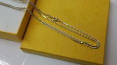 Vintage Halsschmuck - 70 cm/1,4 mm Venezianer-Halskette Silber 925 HK231 - ein Designerstück von Atelier-Regina bei DaWanda
