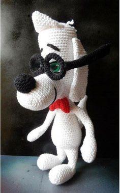 Mr. Peabody ~ free crochet pattern