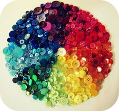 The Haby Goddess: Colour Wheel of Buttons