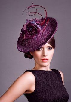 Rose bowl... Rachel Trevor Morgan headpiece... #fascinators #hats #millinery