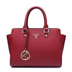 Tosca Black Nylon Oversized Travel Tote Bag w/ Detachable Shoulder Strap