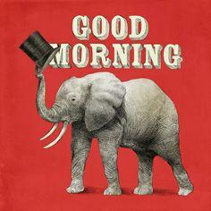 Good Morning - Art Print by Eric Fan/Society6