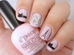 Cute I love Paris Nail Art Collections