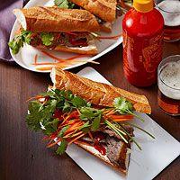 Thai Brisket Sandwiches