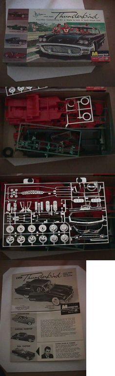 Vintage 2585: Scarce Original 1958 Ford Thunderbird Model Kit By Monogram -> BUY IT NOW ONLY: $99.95 on eBay!