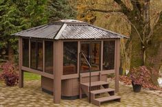 enclosed jacuzzi rooms outdoor projects | ... Outdoor Gazebo,Visscher Specialty Gazebos Enclosures,Serving,Lehighton