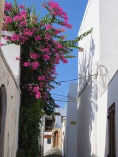 Village of Lindos, Greece