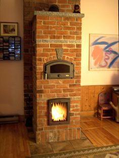 Stove Fireplace, Fireplace Design, Rocket Mass Heater, Stove Heater, Cooking Stove, Cooking Fish, Cooking Salmon, Cooking Games, Brick Masonry