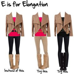 E is for elongation