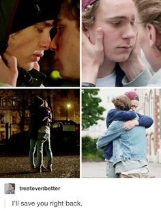 Emotional support goes both ways in a relationship; Evak is seriously ! Series Movies, Movies And Tv Shows, Tv Series, Skam Tumblr, Skam Wallpaper, Skam Isak, Isak & Even, Cute Gay Couples, Nerd