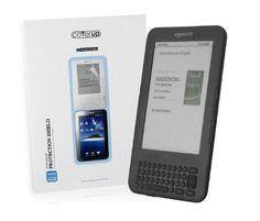 "Cover-Up Amazon Kindle 3 Keyboard (Global Wireless 6"") Anti-Glare Screen Protector by Cover-Up. $0.75. Protect your Amazon Kindle with this ultra thin, durable and easy to apply Cover-Up Anti-Glare screen protector. The high quality material protects against scratches, scuffs, dust, and fingerprints, while reducing distracting glare caused by reflected light. It is very easy to apply and remove without leaving residue and is virtually undetectable once it's appl..."