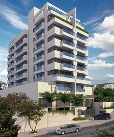 Em Construção - Up Méier, Apartamentos de 3 e 2 quartos com varanda gourmet e coberturas dúplex à Venda no Méier, Rio de Janeiro - RJ. - Leduca. Código: 219