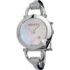 Gucci Chiodo watch; $1275 with diamond accents.