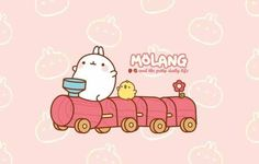 Choochoo all aboard the molang express! Baby Bunnies, Cute Bunny, Mazes For Kids Printable, Cutest Bunny Ever, Bunny Names, Rabbit Drawing, Molang, Amazing Adventures, Kawaii Cute