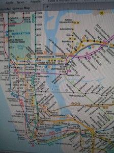 NYC, how we got around!  Subway