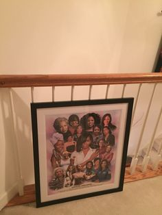 "One of our customer shared the framed and ready to hang version of the ""Yes We Still Can"" print by Wishum Gregory that they purchase from us. Looks great! This is one my favorite historical pieces that we carry. #blackhistory #blackart #michelleobama #blackgirlsrock #blackgirlmagic..."