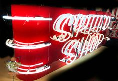Painted Letters, Hand Painted, Marquee Sign, Logo Sign, Stage Set, Business Signs, Custom Metal, Custom Logos, Metal Art