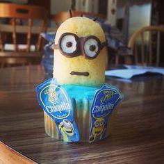 @Chiquita Brands #banana #cupcakes YUM! #stickaminiononit #week3 (Photo by imsosquishy)